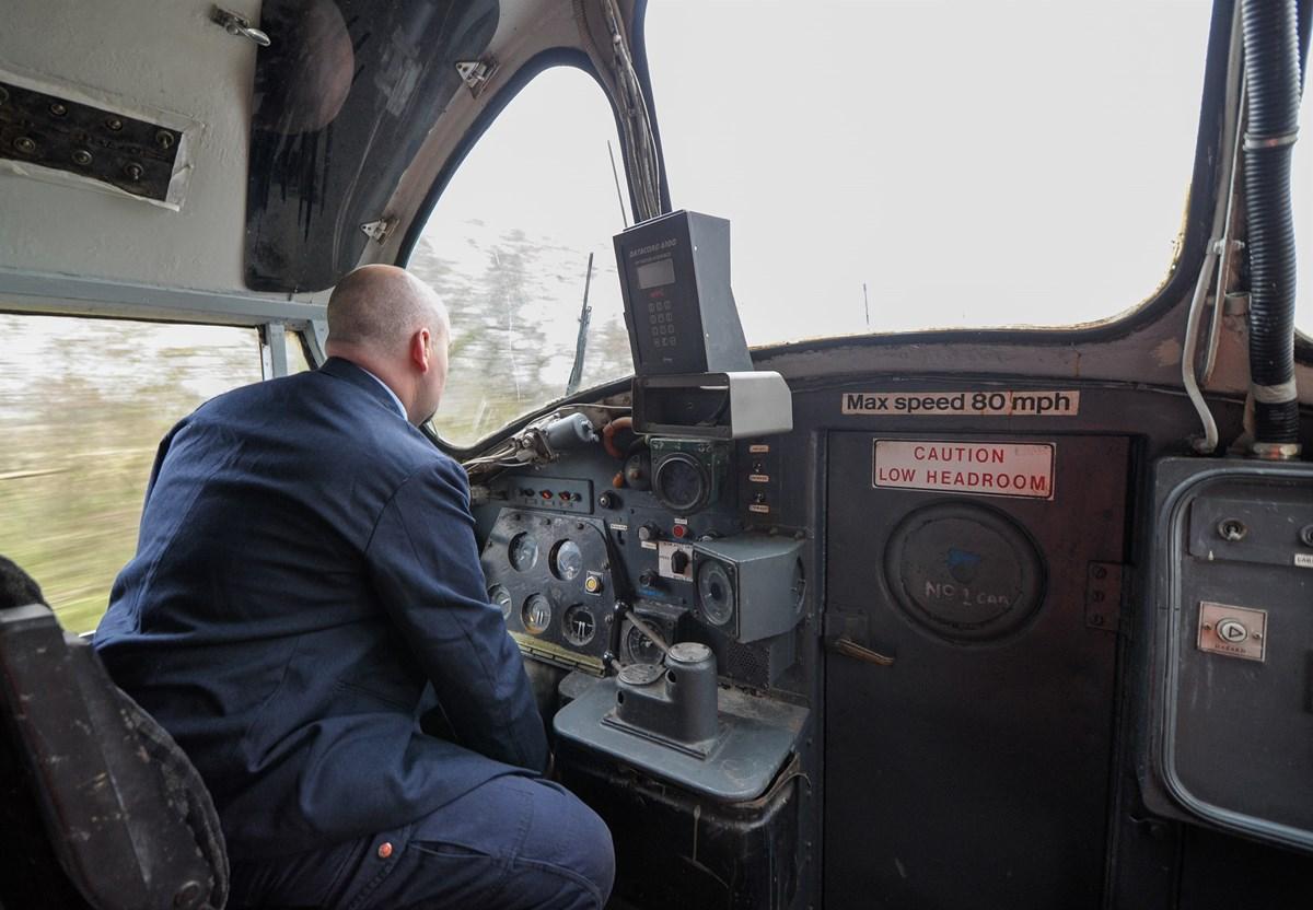 Passenger Launch Of 37674