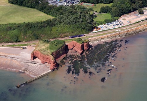 Lang stone rock dawlish webcam