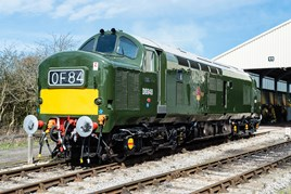 Fresh from its rebuild, Class 37 D6948 (37248) stands at Toddington on April 10. GROWLER GROUP.