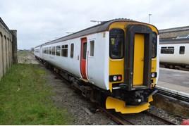 Abellio Greater Anglia 156418 at Lowestoft on November 6. RICHARD CLINNICK.