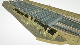 An artist's impression of Carlisle station. NETWORK RAIL.