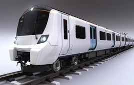 Artist's impression of a Class 700 for Great Northern. GTR.