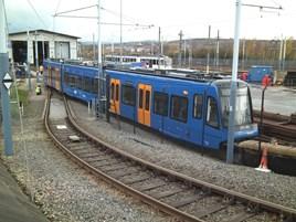 399201 at Nunnery Depot, Sheffield. MIKE HADDON.