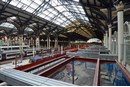 An overview of London Liverpool Street's redevelopment on November 20.