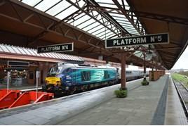 DRS 68009 on hire to Chiltern Railways on December 30 2015. RICHARD CLINNICK.