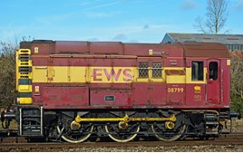 DB 08799 at Westbury on March 6 2015. MARK PIKE.
