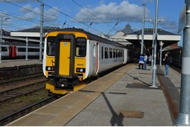 Greater Anglia 156419 at Norwich. RICHARD CLINNICK.