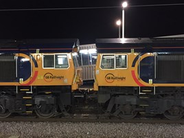 GBRf 66722 and 66765. RICHARD CLINNICK.