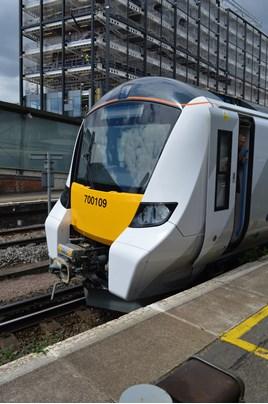 GTR 700109 at East Croydon on May 24. RICHARD CLINNICK.