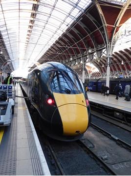 GWR 800013 at London Paddington. RICHARD CLINNIC