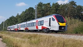 755404 on test in Velim on September 6. GREATER ANGLIA.