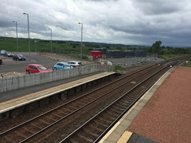 Shotts station. NETWORK RAIL.