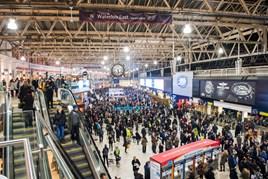 Passengers at London Waterloo. JACK BOSKETT/RAIL.