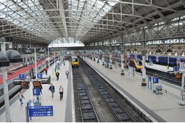 Manchester Piccadilly on July 20 2015. RICHARD CLINNICK.
