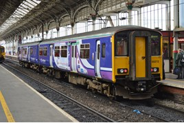 Northern 150272 at Preston on July 20. RICHARD CLINNICK.