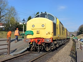 NR 37198 stands at Rothley on March 2 2013. RICHARD CLINNICK.