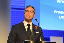 Terence Watson, Alstom Country President and Transport Managing Director, and co-chairman of the Rail Supply Group.