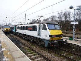 East Anglia train