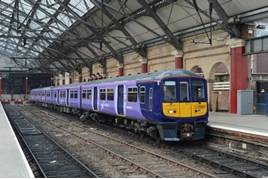 Northern Rail 319363 at Liverpool Lime Street